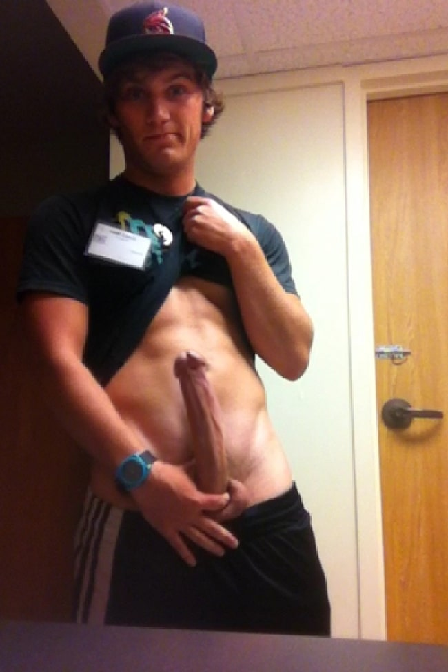 College Guys Showing Their Dicks