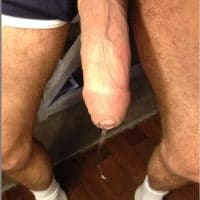 Cum Dripping Cock