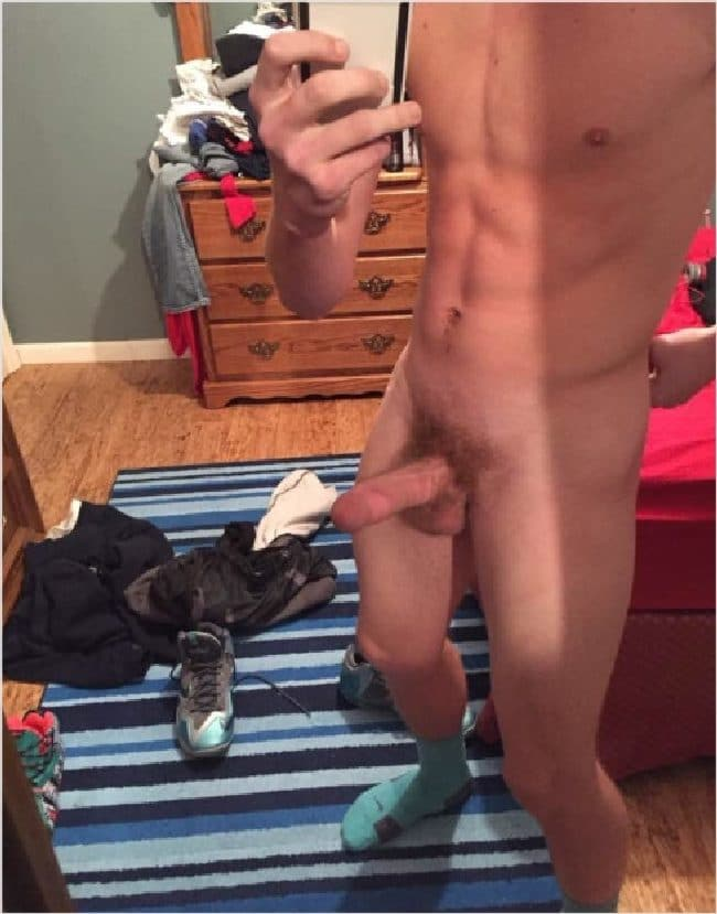 Fit Boy Hard Cock