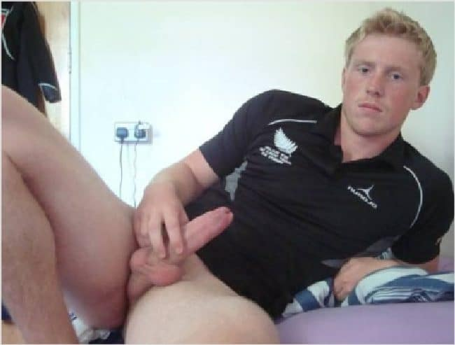 Guy With Erection